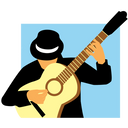 Logo Franky Joe Texier - flamenco rumba