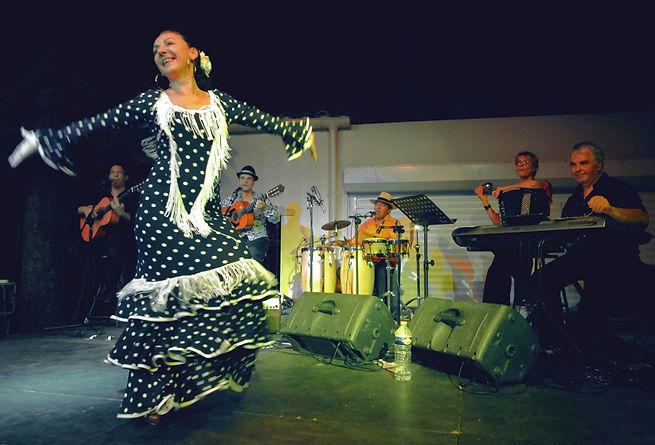 Provence-Alpes-Côte d'Azur, photo danseuse flamenco - Bourg-en-Bresse - rumba flamenca - animation mariage, repas entreprise, association, Drôme, Gard, France.