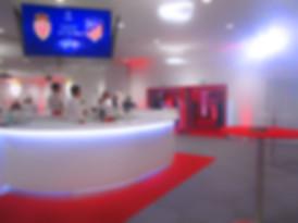animation musiciens salon VIP - stade de Monaco - flamenco gipsy hispanique