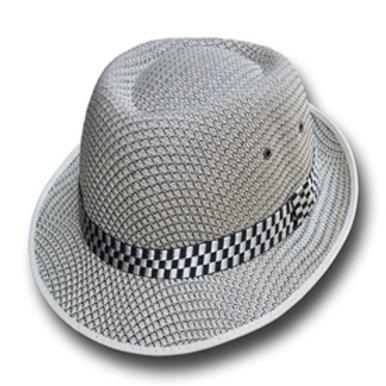 Chapeaux gris et Blanc