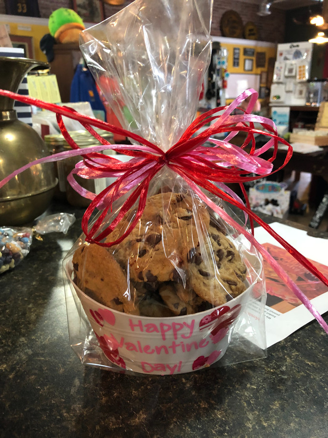 Valentine's Cookie Baskets