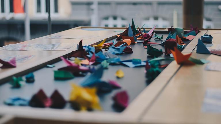 Chinese Origami Making