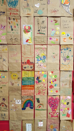 Children's drawings at Bb4ck