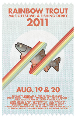 Rainbow Trout Music Festival 2011
