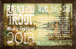 Rainbow Trout Music Festival 2013