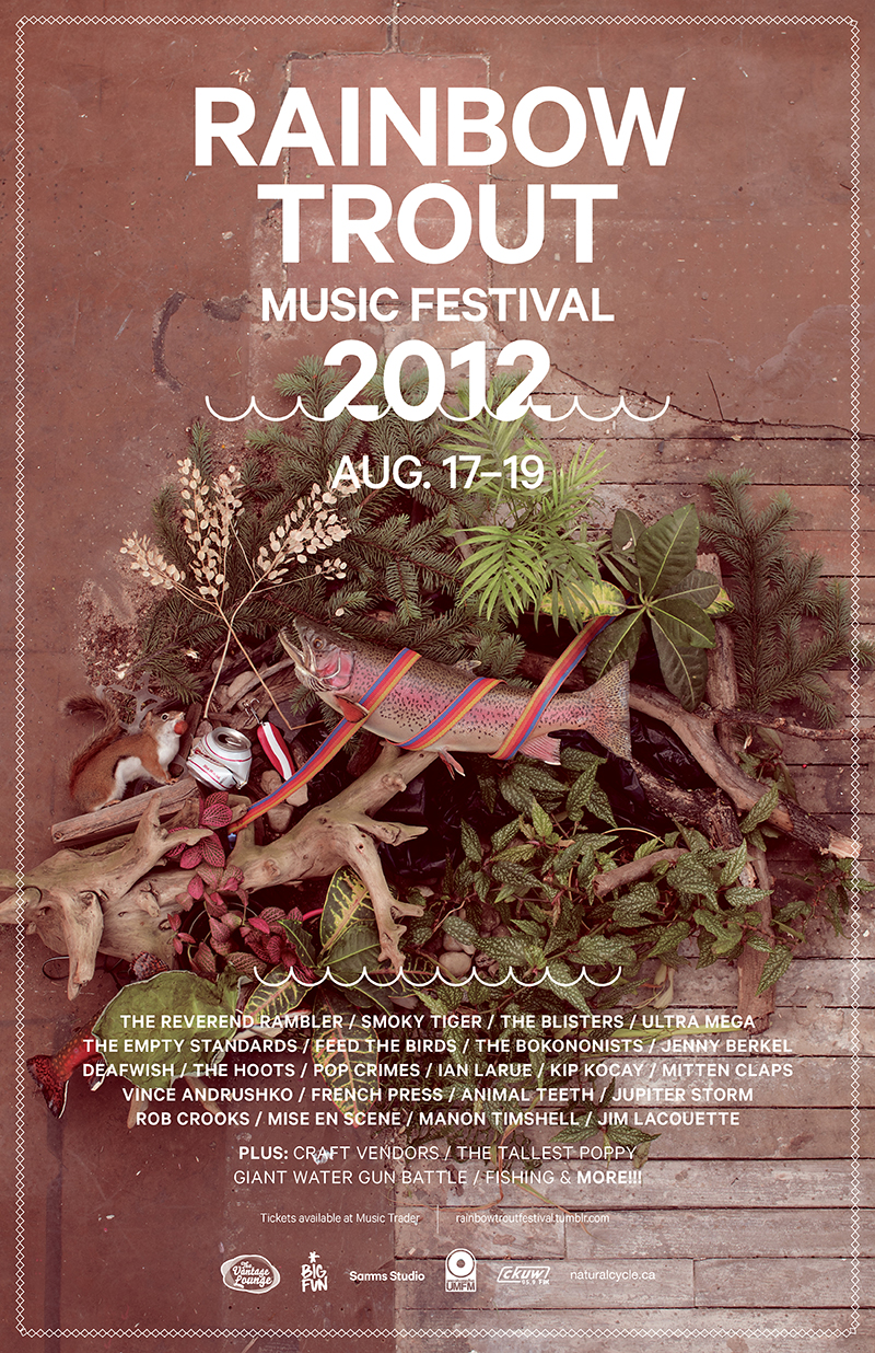 Rainbow Trout Music Festival 2012