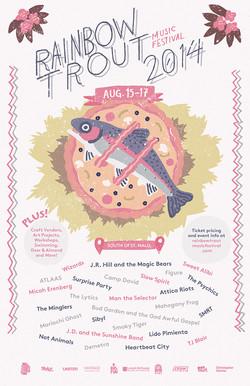 Rainbow Trout Music Festival 2014