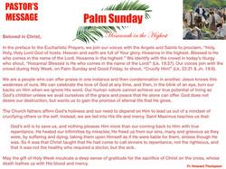 Pastor's Message - 60 Palm Sunday_001