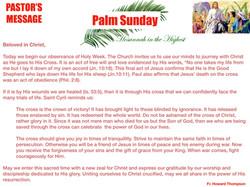 Pastor's Message - 107 Palm Sunday_001