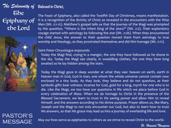 Pastor's Message - 145 The Epiphany of t