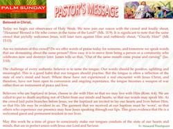 Pastor's Message - 11 Palm Sunday_001