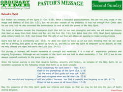 Pastor's Message - 01 Second Sunday in Ordinary Time_001