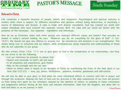 Pastor's Message - 05 Sixth Sunday in Ordinary Time_001
