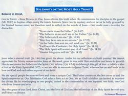 Pastor's Message - 18 Holy Trinity Sunday_001