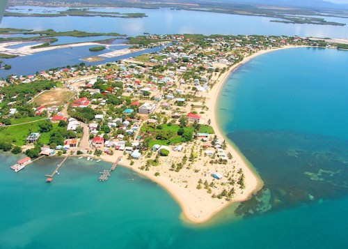 Beautiful Placencia village
