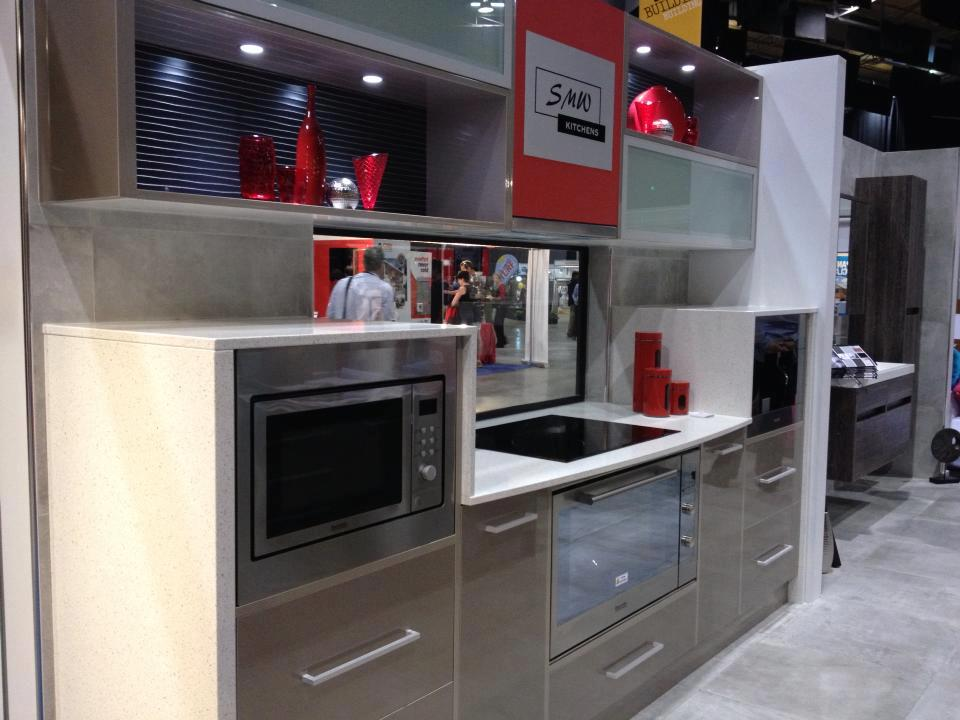SMW Kitchens display at the TRECC