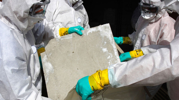 What happens at an asbestos inspection?
