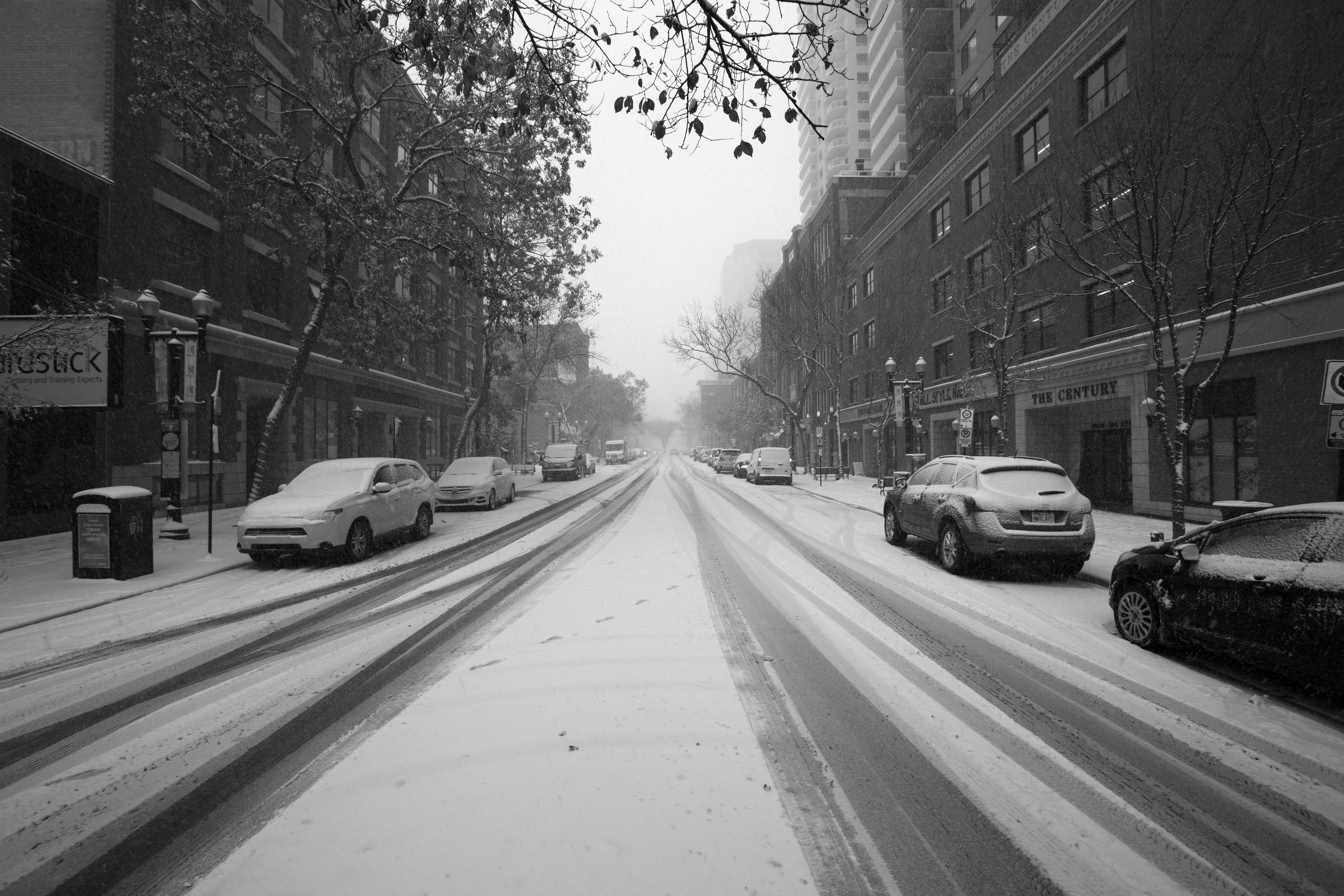 104 Street Snow