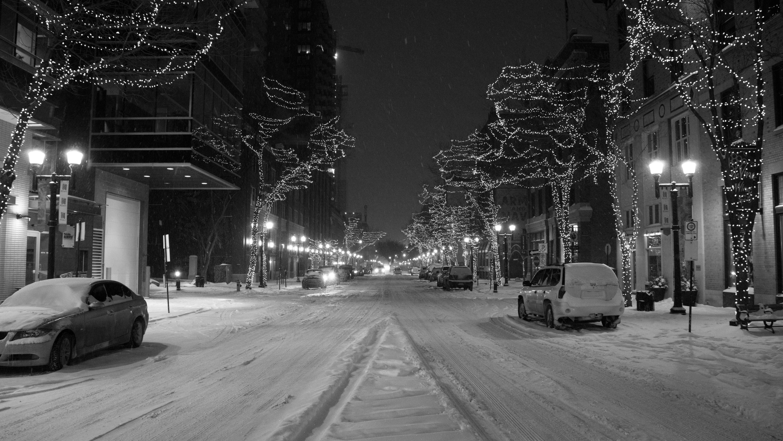 104 Street Snow II