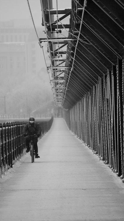 Frost Bike / Framed, 16X20
