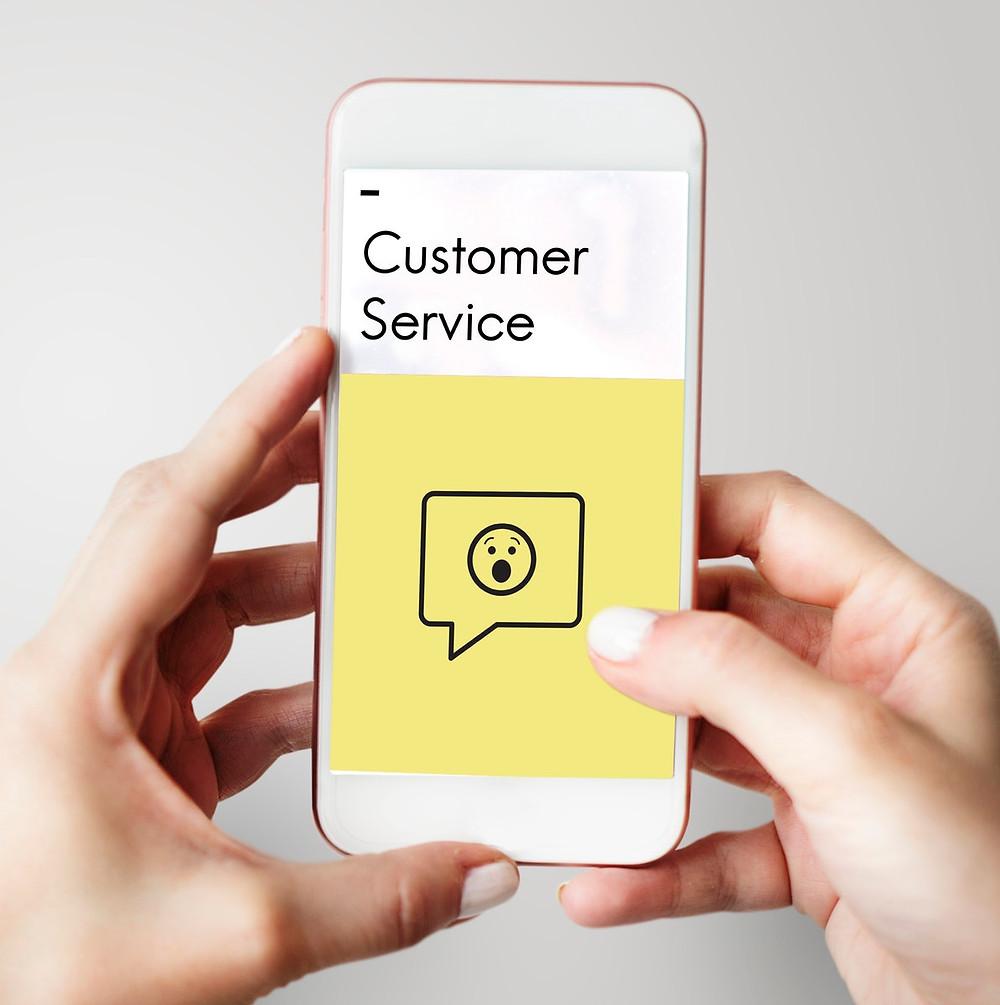 smartphone, customer service