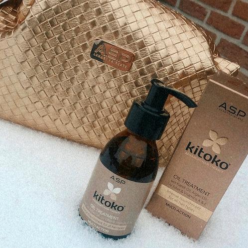 Kitoko oil met gouden zakje