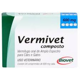 Vermivet Composto para Cães e Gatos