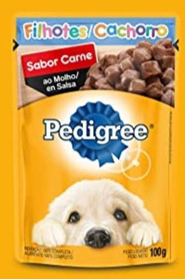 Ração Úmida Sachê Pedigree Carne para Filhotes