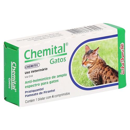 Chemital Vermífugo para Gatos