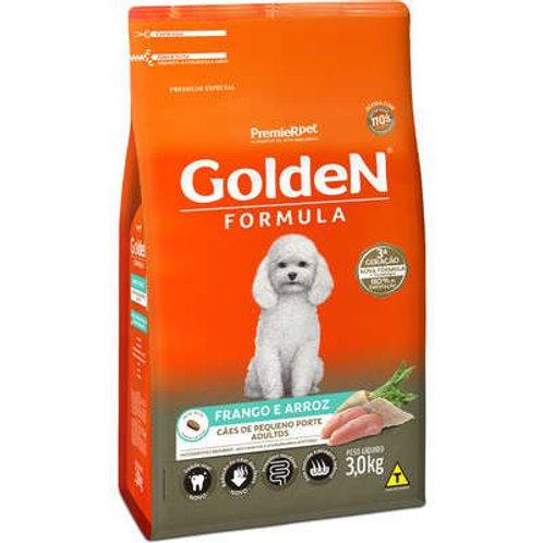 Ração Golden Cães de Pequeno Porte Adultos Frango e Arroz