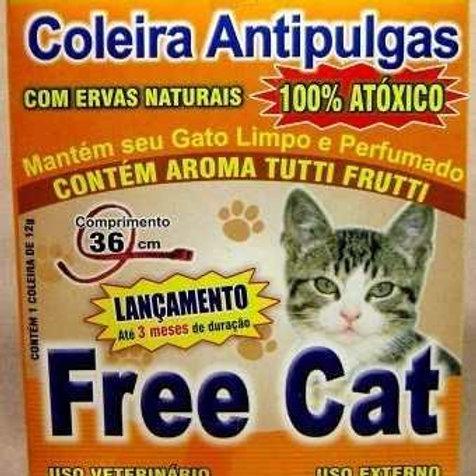 Coleira Antipulgas Free Cat