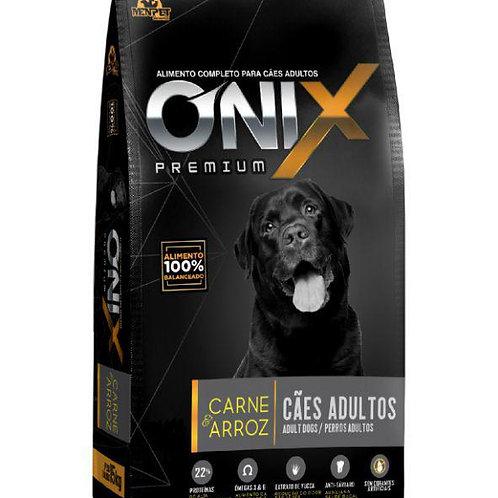 Ração Onix Premium Adulto Carne Arroz