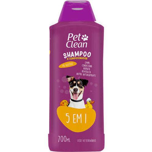 Shampoo e Condicionador Pet Clean 5 em 1