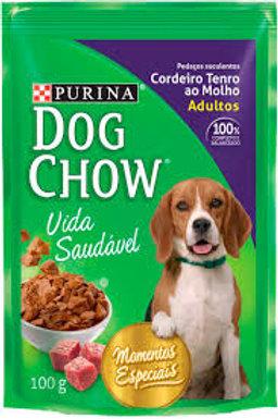 Ração Úmida Cachorro DogChow Adulto Sabor Cordeiro