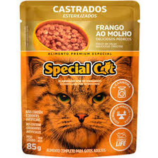 Ração Úmida Special Cat Frango para Gatos Castrados