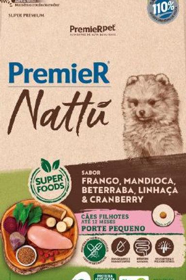 Ração Premier Nattú Cães Pequeno Porte Filhotes