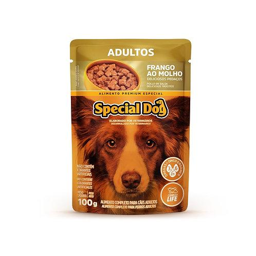 Ração Úmida Special Dog Sachê Frango para Cães Adultos