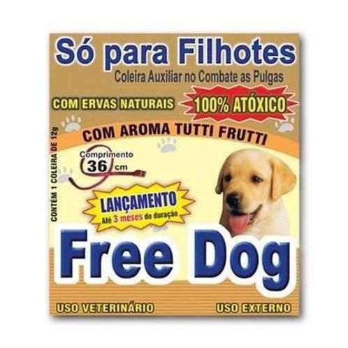 Coleira Anti Pulgas Free Dog Filhotes