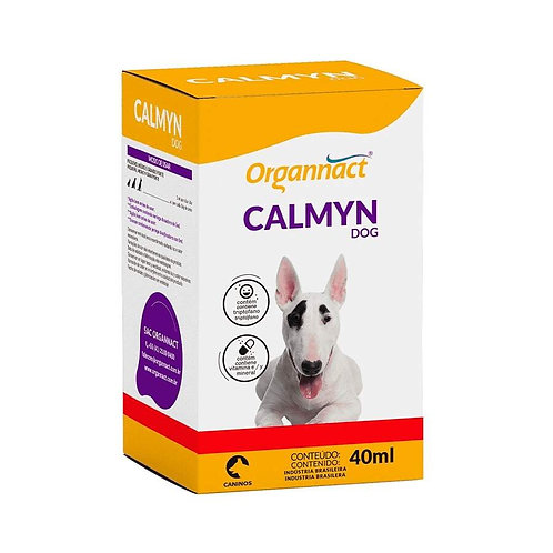 Calmyn Dog Vitaminas e Nutrientes para Cães