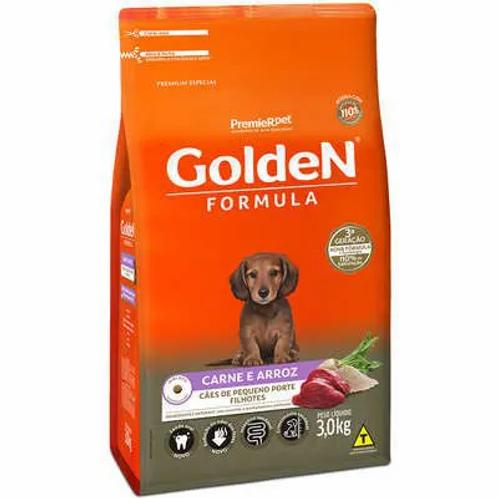 Ração Golden Fórmula Cães de Pequeno Porte Filhotes Carne e Arroz