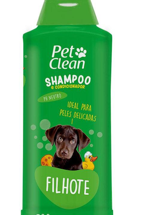 Shampoo e Condicionador Pet Clean Filhote