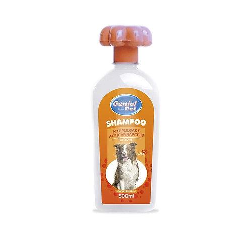Shampoo Antipulgas, Anticarrapatos e piolho.