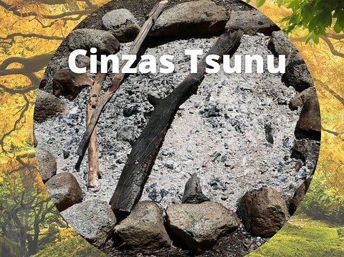 Cinza Tsunu 250g - Origem - Etnia Shawandawa - Acre