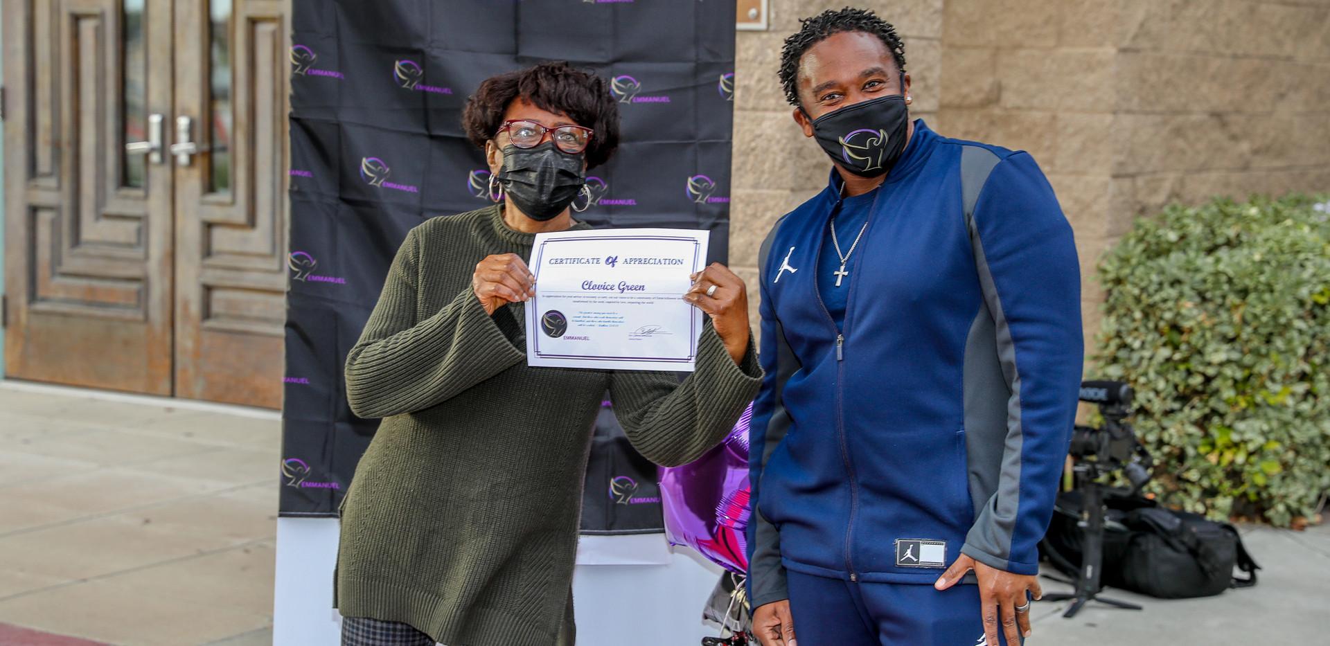 2020 Volunteer Appreciation - Emmanuel B
