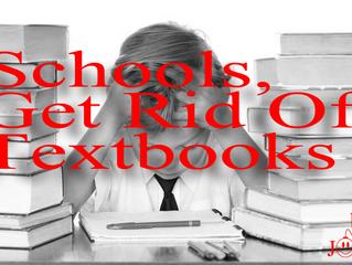 Schools, Get Rid Of Textbooks