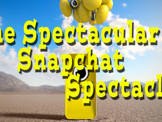The Spectacular Snapchat Spectacles