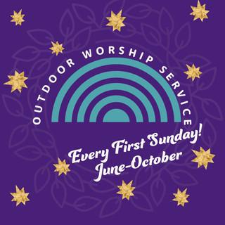 Outdoor Worship Service - August!