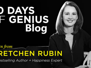 30 Days Of Genius Blog: Gretchen Rubin