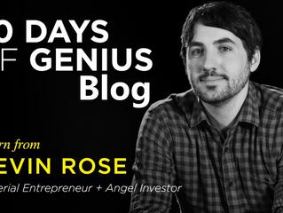 30 Days Of Genius Blog: Kevin Rose