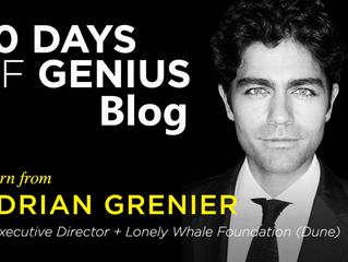30 Days Of Genius Blog: Adrian Grenier